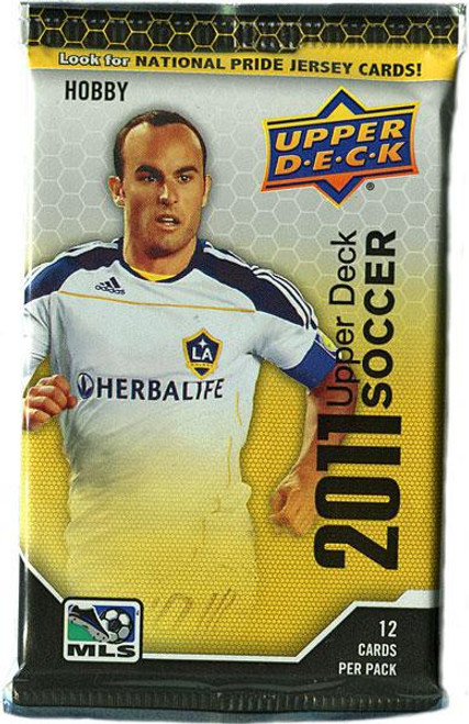 MLS 2011 Soccer Trading Card HOBBY Pack