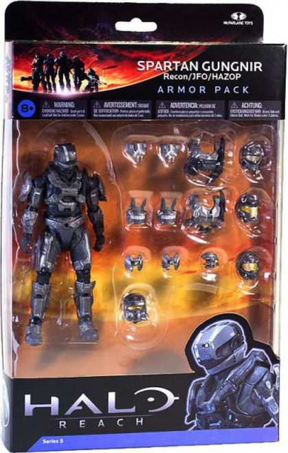 McFarlane Toys Halo Reach Series 5 Spartan Gungnir Armor Pack [Steel]