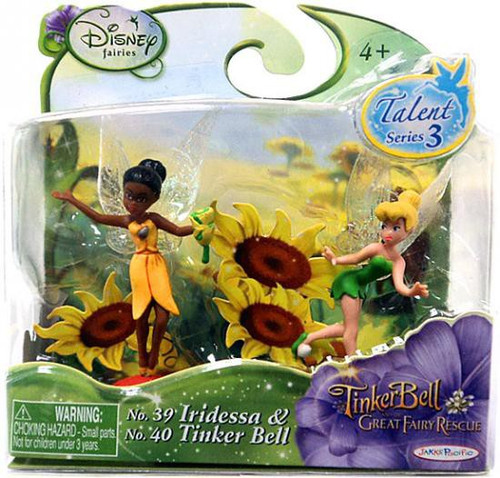Disney Fairies Tinker Bell & The Great Fairy Rescue Talent Series 3 Iridessa & Tinker Bell Figure 2-Pack