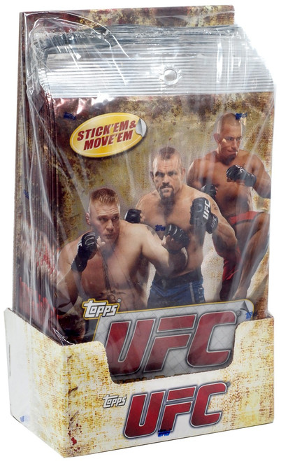 UFC Ultimate Fighting Championship 2010 Stick-N-Move Graphics Trading Card Box [20 Packs]