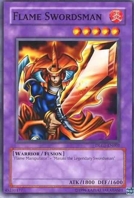 YuGiOh Dark Legends Common Flame Swordsman DLG1-EN003