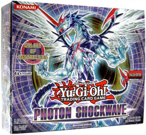 YuGiOh Trading Card Game Photon Shockwave Booster Box [24 Packs]