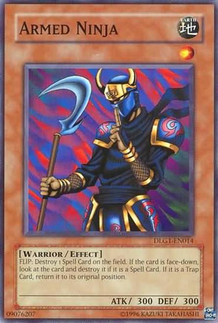 YuGiOh Dark Legends Common Armed Ninja DLG1-EN014