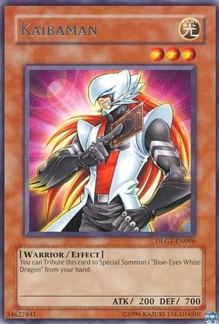 YuGiOh Dark Legends Rare Kaibaman DLG1-EN096