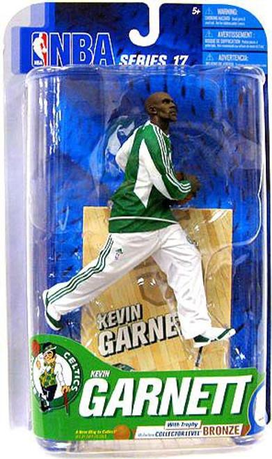 McFarlane Toys NBA Boston Celtics Sports Picks Series 17 Kevin Garnett Action Figure [Green Jersey]
