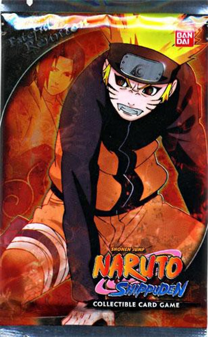 Naruto Shippuden Card Game Fateful Reunion Booster Pack