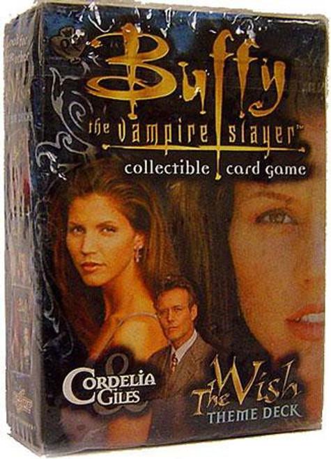 Buffy The Vampire Slayer Collectible Card Game The Wish Cordelia & Giles Theme Deck