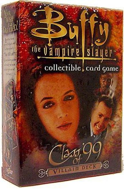 Buffy The Vampire Slayer Collectible Card Game Class of '99 Starter Deck [Villain]