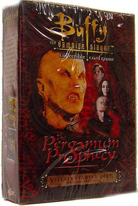 Buffy The Vampire Slayer Collectible Card Game The Pergamum Prophecy Starter Deck [Villain]