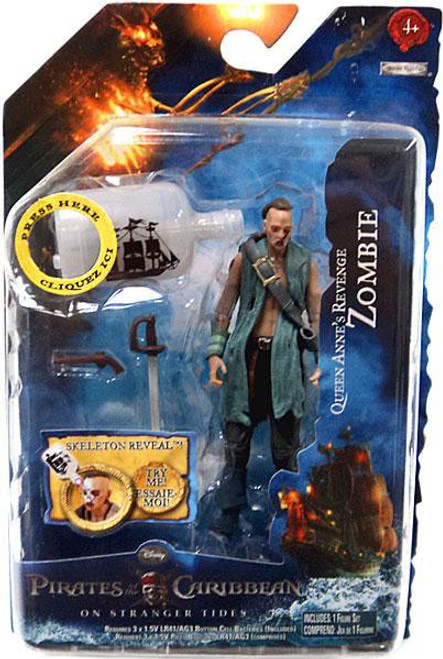 Pirates of the Caribbean On Stranger Tides Series 2 Zombie Action Figure [Queen Anne's Revenge]