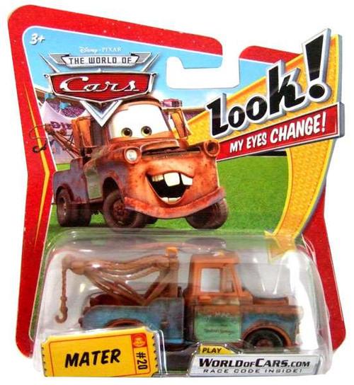Disney / Pixar Cars The World of Cars Lenticular Eyes Series 1 Mater Diecast Car