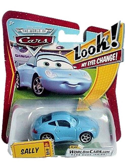 Disney / Pixar Cars The World of Cars Lenticular Eyes Series 1 Sally Diecast Car