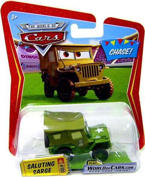 Disney / Pixar Cars The World of Cars Saluting Sarge Diecast Car