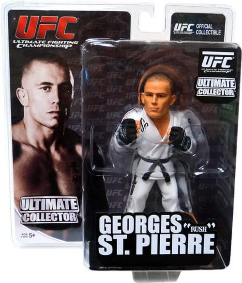 UFC Ultimate Collector Series 7 Georges St Pierre Action Figure [White Gi]