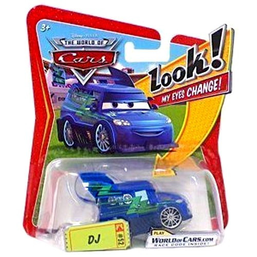 Disney / Pixar Cars The World of Cars Lenticular Eyes Series 1 DJ Diecast Car
