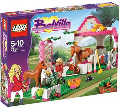 LEGO Belville Horse Stable Set #7585