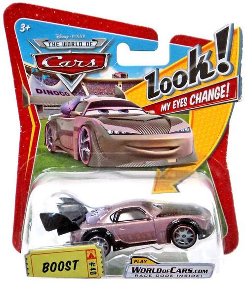 Disney / Pixar Cars The World of Cars Lenticular Eyes Series 1 Boost Diecast Car
