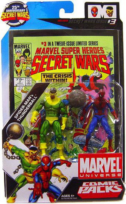 Marvel Universe Spider-Man & Thunderball Action Figure 2-Pack #3