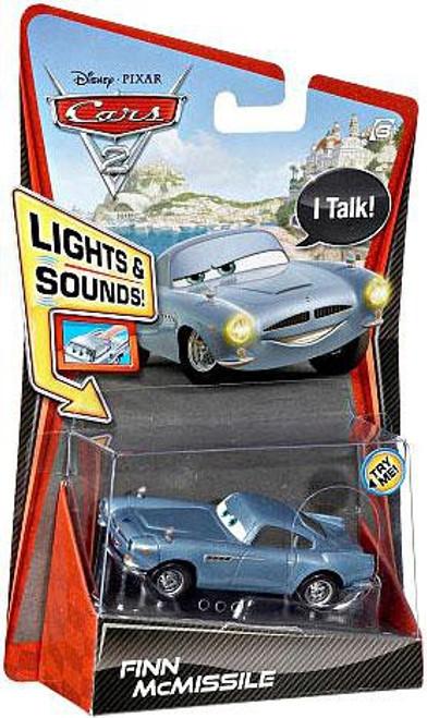 Disney / Pixar Cars Cars 2 Lights & Sounds Finn McMissile Diecast Car