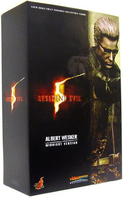 Resident Evil 5 Video Game Masterpiece Albert Wesker Collectible Figure [Midnight Version]