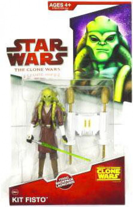 Star Wars The Clone Wars 2009 Kit Fisto Action Figure CW05