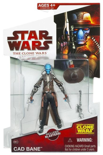 Star Wars The Clone Wars 2009 Cad Bane Action Figure CW22