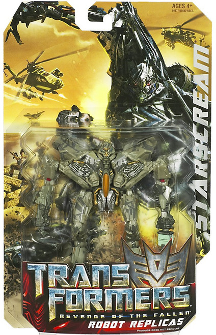 Transformers Revenge of the Fallen Robot Replicas Starscream Action Figure