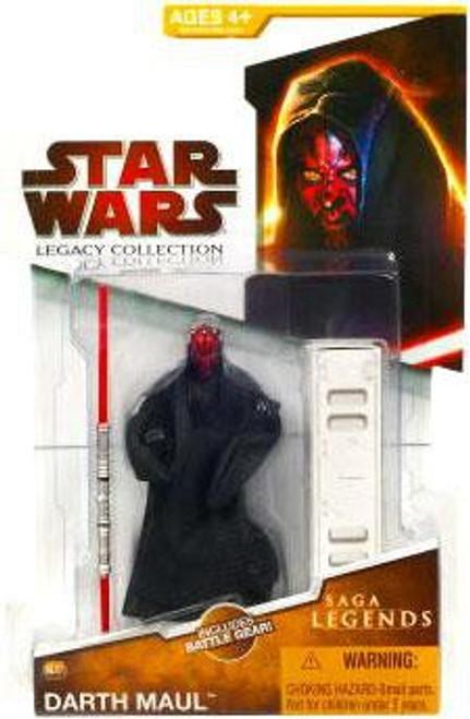 Star Wars Phantom Menace 2009 Legacy Collection Saga Legends Darth Maul Action Figure SL07