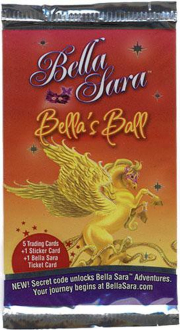 Bella Sara Collectible Card Game Bella's Ball Booster Pack [5 Cards]