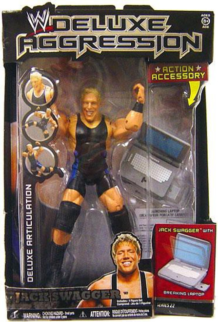 WWE Wrestling Deluxe Aggression Series 22 Jack Swagger Action Figure