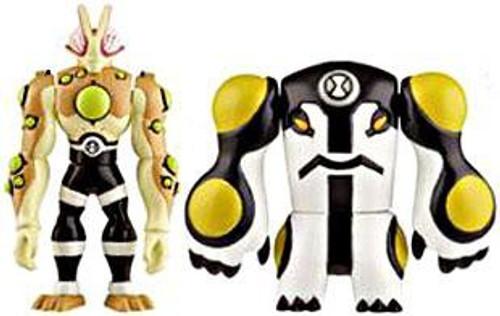 Ben 10 Alien Force Alien Creation Chamber Eyeguy & Cannonbolt Mini Figure 2-Pack
