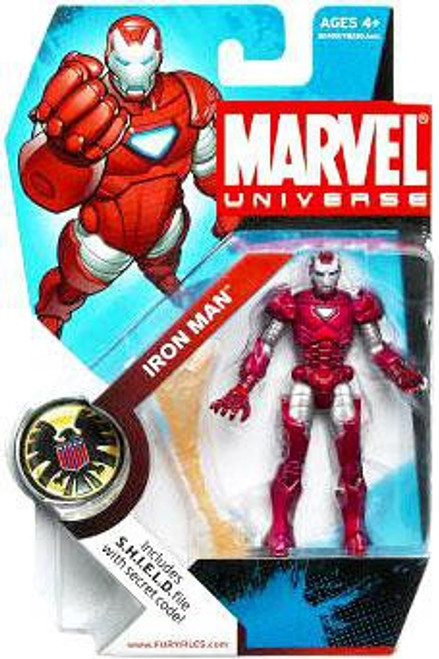 Marvel Universe Series 5 Iron Man Action Figure #33 [Silver Centurion]