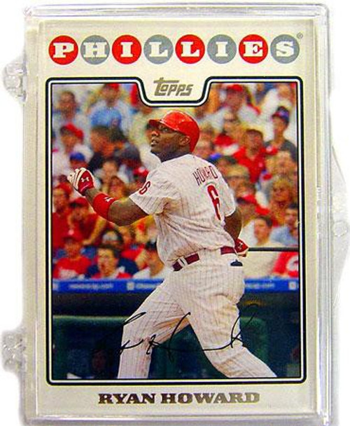 MLB 2008 Baseball Philadelphia Phillies Trading Card Team Set [Plastic Case]