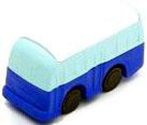 Iwako Bus Eraser [Blue & White]