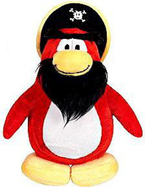 Club Penguin Series 3 Captain Rockhopper 6.5-Inch Plush Figure [Version 2]