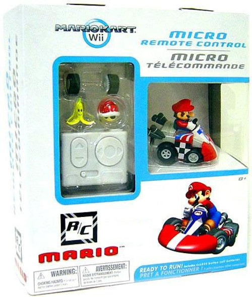 Super Mario Mario Kart Wii Micro Remote Control Mario Exclusive R/C Vehicle