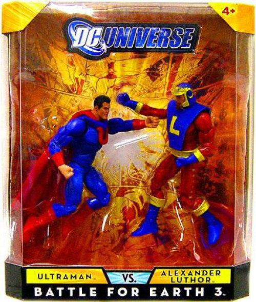 DC Universe Ultraman Vs Alexander Luthor Exclusive Action Figures