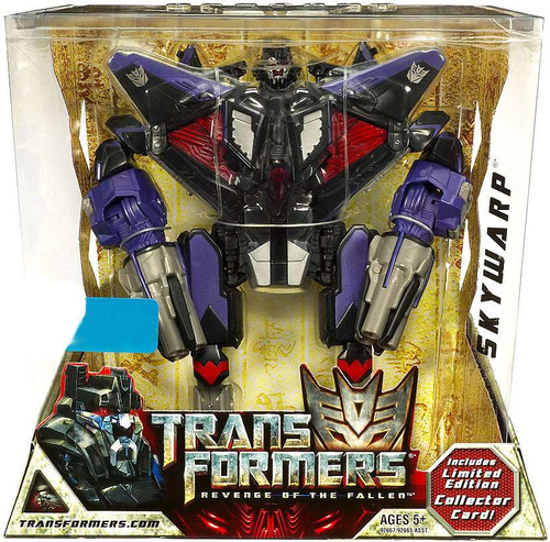 Transformers Revenge of the Fallen Skywarp Exclusive Voyager Action Figure