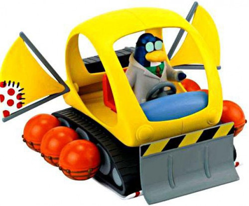 Club Penguin Snowtrekker Vehicle Set