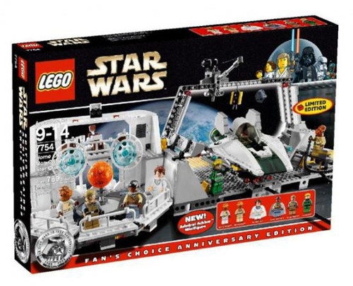 LEGO Star Wars Return of the Jedi Home One Mon Calamari Star Cruiser Exclusive Set #7754
