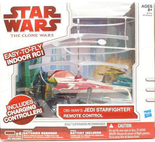 Star Wars The Clone Wars Remote Control Vehicles Jedi Starfighter R/C Vehicle