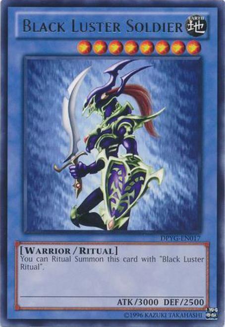 YuGiOh Duelist Pack Yugi Rare Black Luster Soldier DPYG-EN017