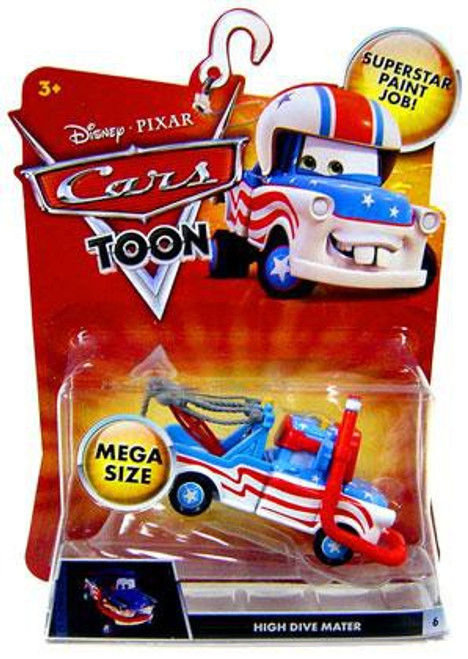 Disney / Pixar Cars Cars Toon Deluxe Oversized High Dive Mater Diecast Car