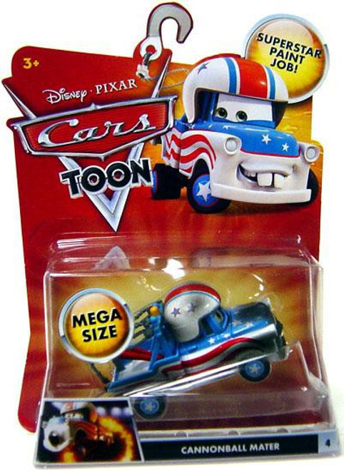 Disney / Pixar Cars Cars Toon Deluxe Oversized Cannonball Mater Diecast Car