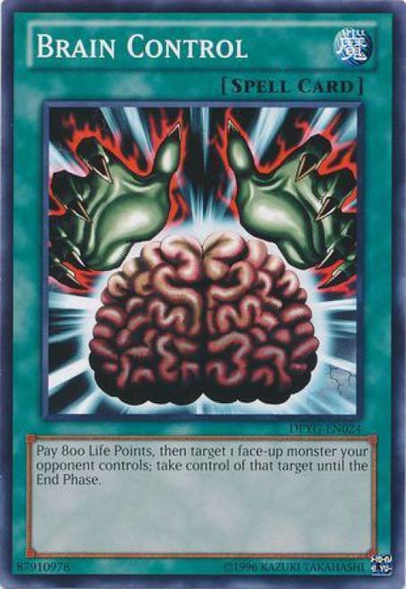 YuGiOh Duelist Pack Yugi Common Brain Control DPYG-EN024