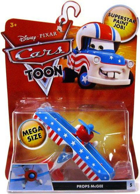 Disney / Pixar Cars Cars Toon Deluxe Oversized Props McGee Diecast Car