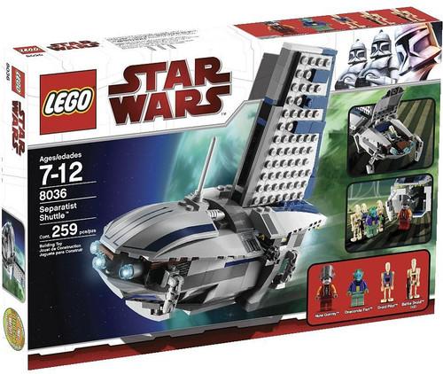 LEGO Star Wars The Clone Wars Seperatist Shuttle Set #8036