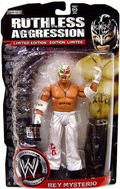 WWE Wrestling Ruthless Aggression Limited Editions Rey Mysterio Exclusive Action Figure