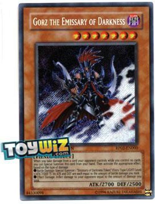 YuGiOh Retro Pack 2 Secret Rare Gorz the Emissary of Darkness RP02-EN000