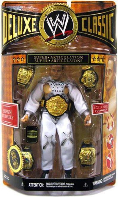 WWE Wrestling Deluxe Classic Shawn Michaels Exclusive Action Figure